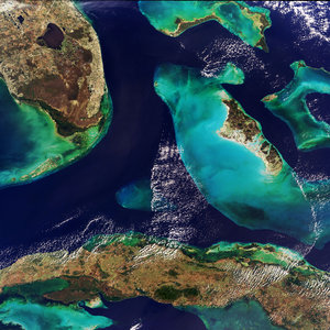 Bahamas - MERIS - 24 January 2004