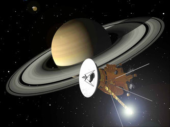 Cassini-Huygens approaches Saturn