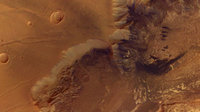 Colour image of Melas Chasma