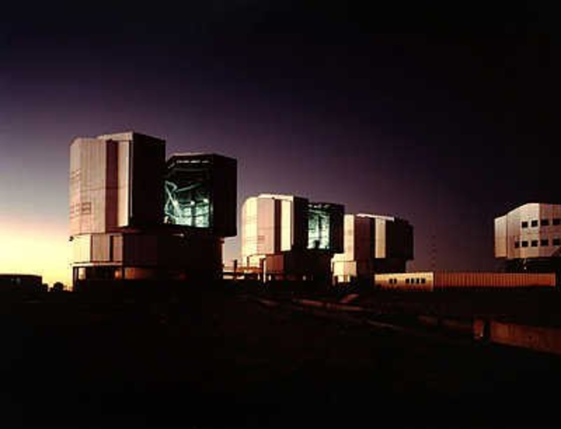 ESO's Very Large Telescope (VLT) at Cerro Paranal