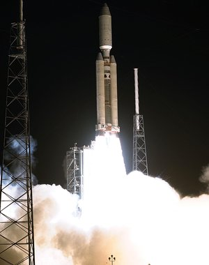 Launch of Cassini-Huygens