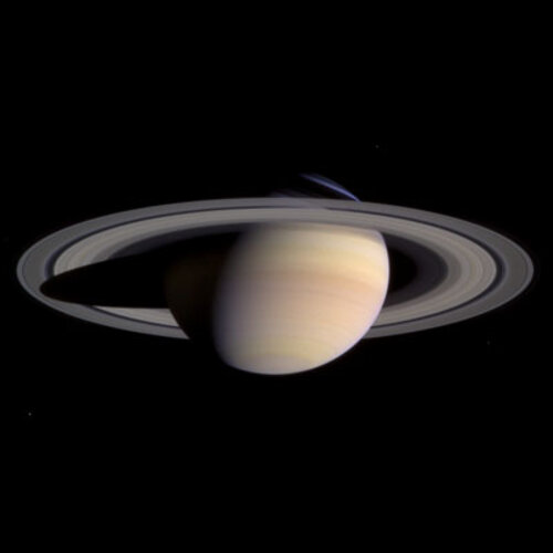 Saturn in colour
