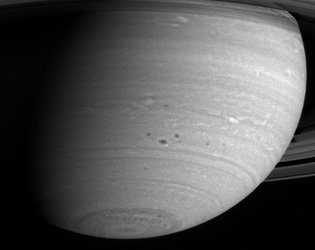 Storms in Saturn's Atmosphere