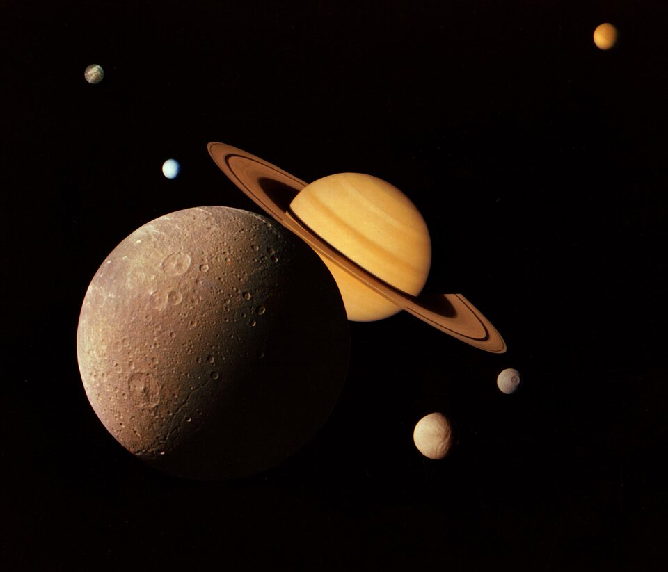 The Saturnian system
