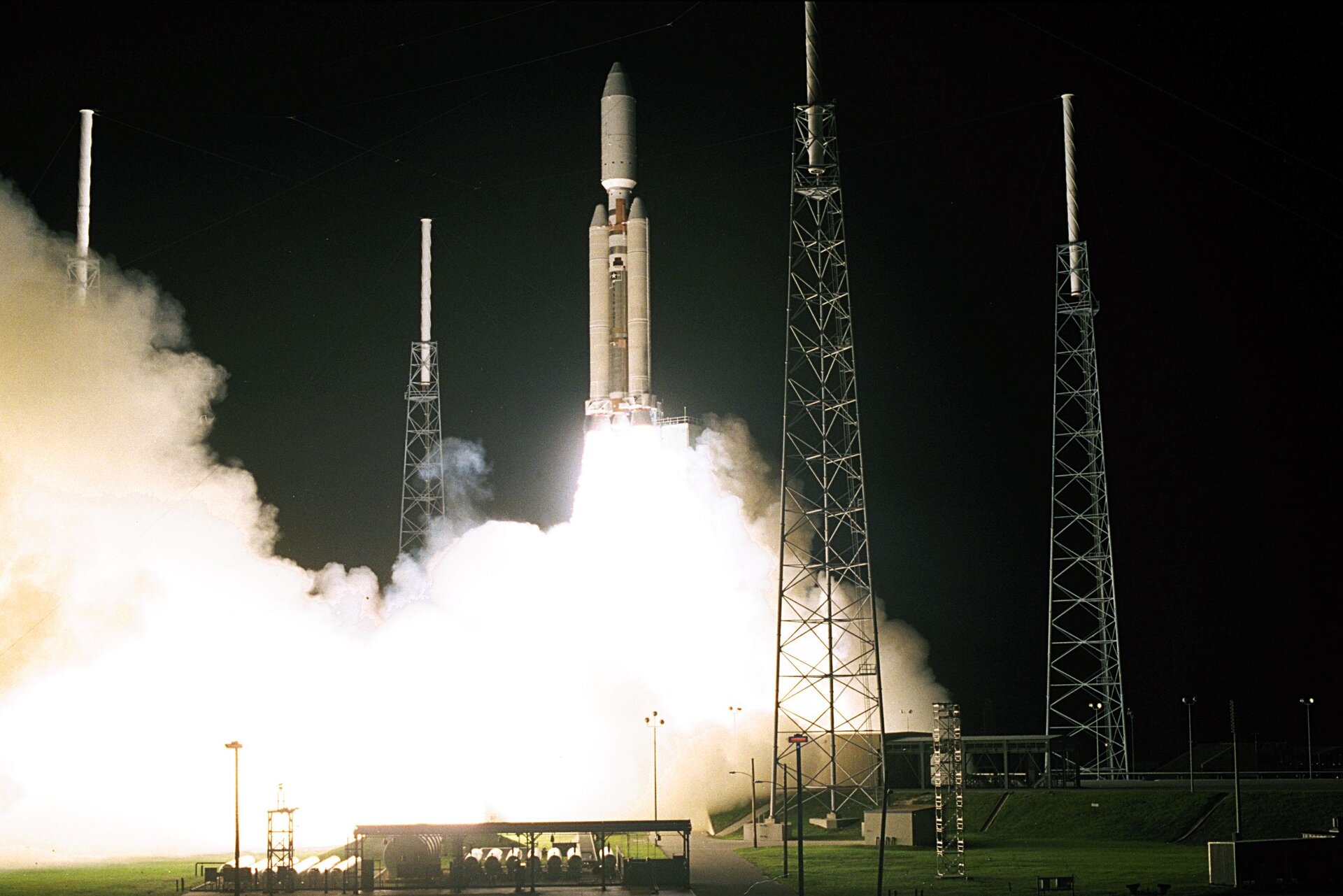 Wide View of Launch