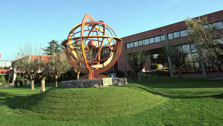 Armillary sphere in ESRIN