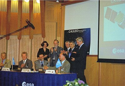Contracts signed for the development of GSTB satellites