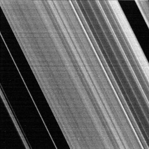 Inner part of Cassini Division, Saturn's rings