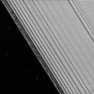 Rippling rings, part of Encke Gap