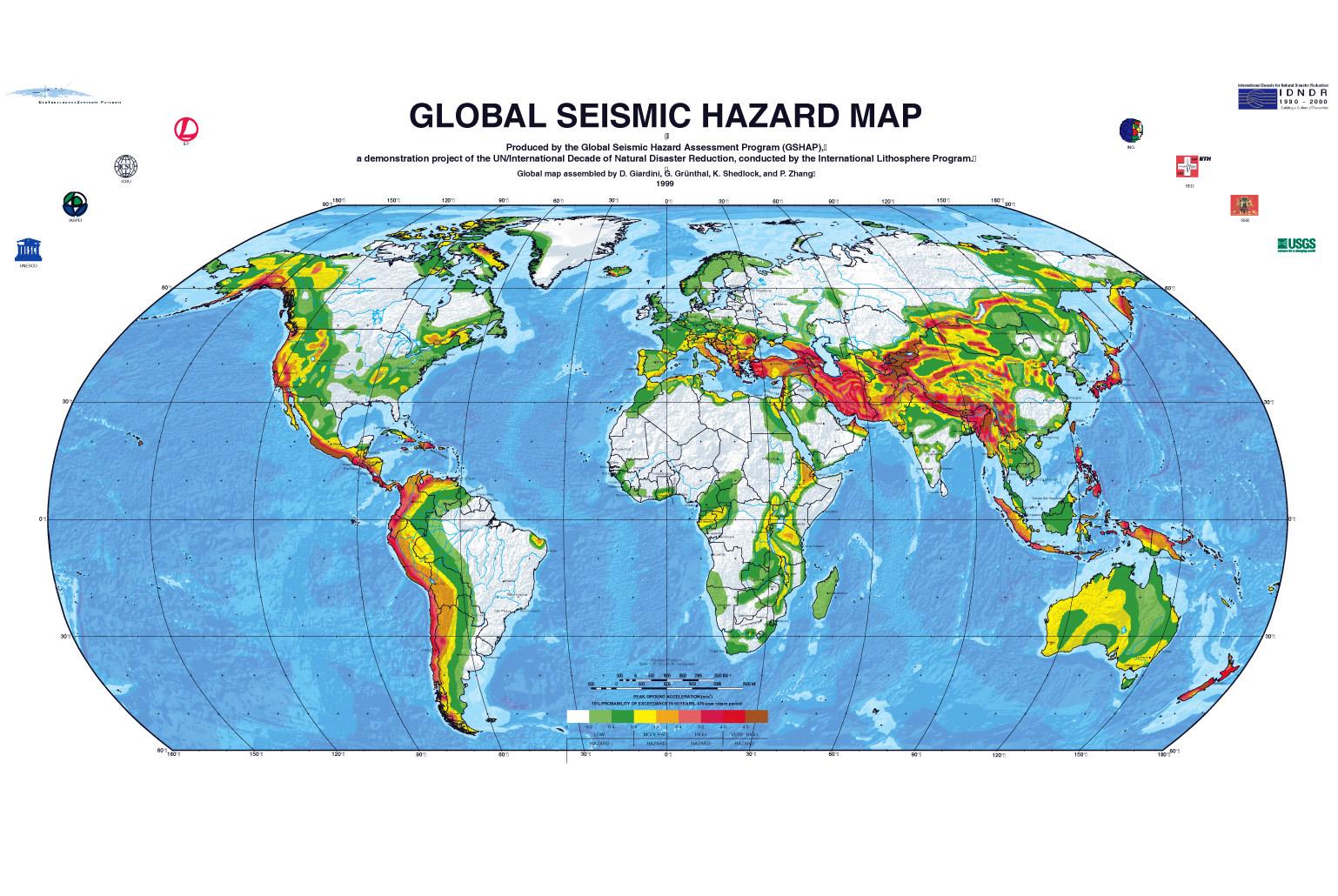 Space In Images Seismic Hazard Map - Us seismic hazard map