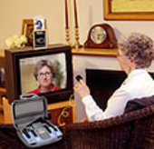 Telemedicine allows patients to be 'visited' in their own homes