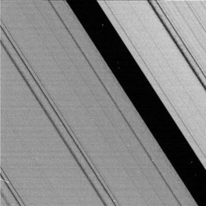 The 'Keeler Gap' in Saturn's rings