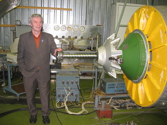 The Russian made docking system of the ATV and its inventor Vladimir Syromiatnikov