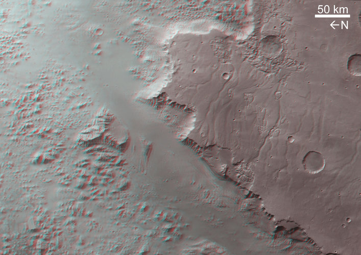 3D image of Eos Chasma