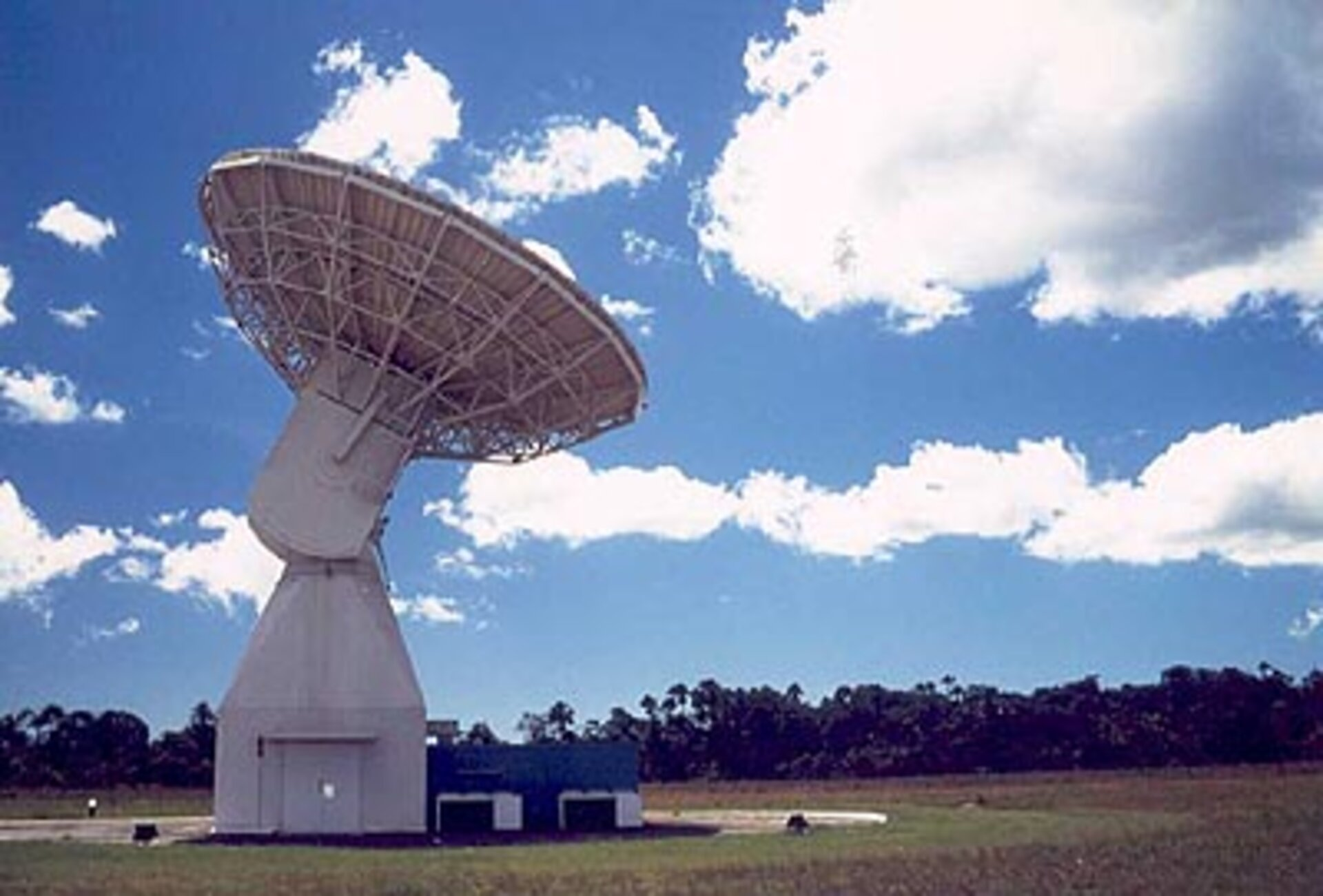 15m antenna at Kourou station