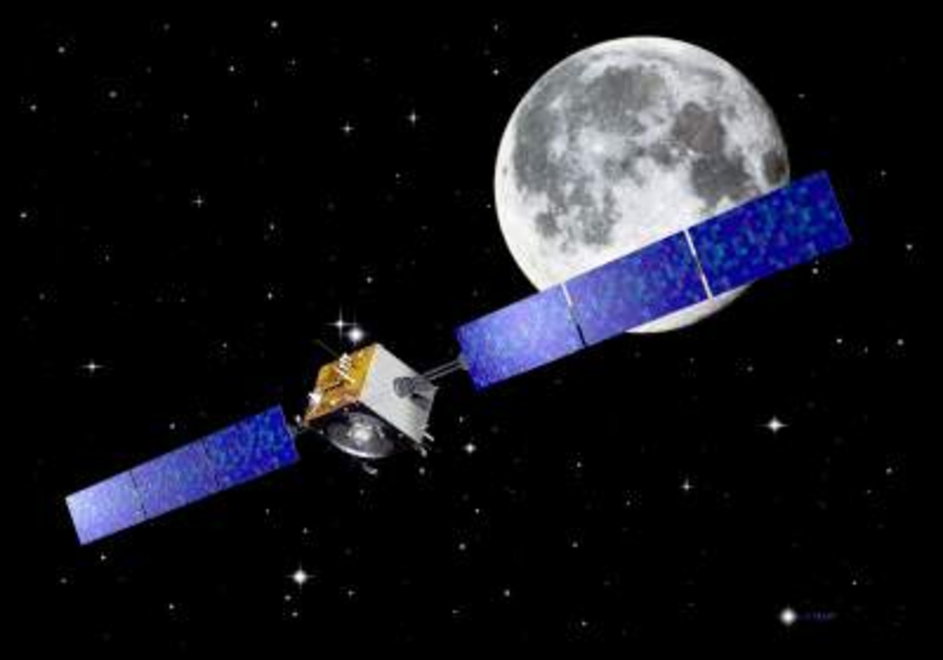 Expanding cooperation: German ground station tracks ESA Moon