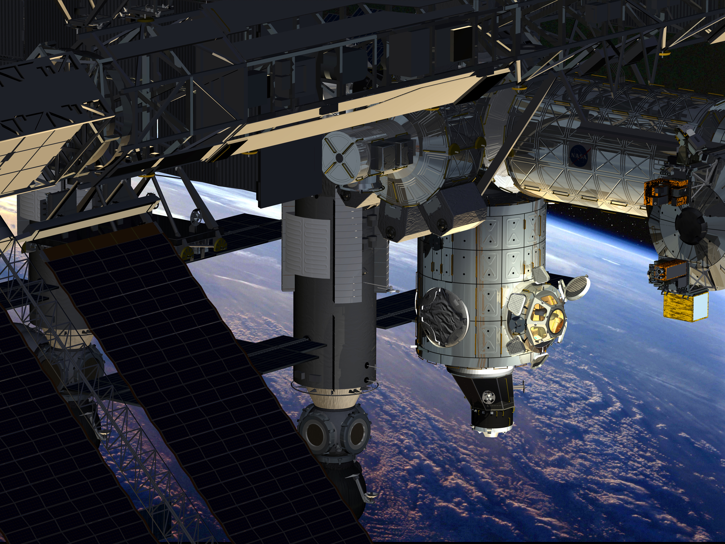International Space Station Cupola - Pics about space