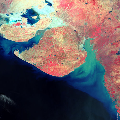 Gujarat, India - MERIS - 17 December 2003