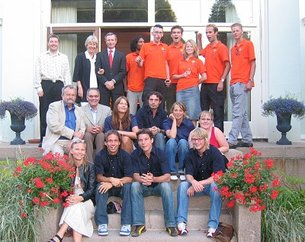 Nuna II team at Dutch embassy