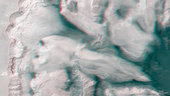 3D anagylph view of Ophir Chasma