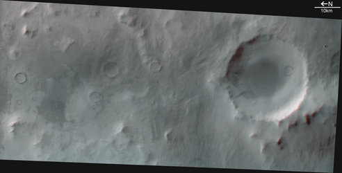 3D image of the Promethei Terra region