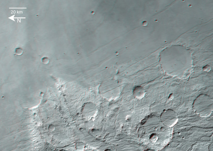 Claritas Fossae in 3D, wide view