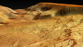 Ophir Chasma - perspective view 01