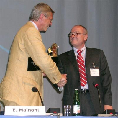 Dordain and Mainoni at the Symposium opening
