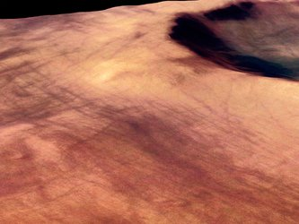 Martian 'dust devil' tracks