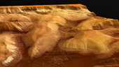 Ophir Chasma - perspective view 02