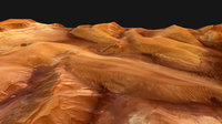 Ophir Chasma - perspective view