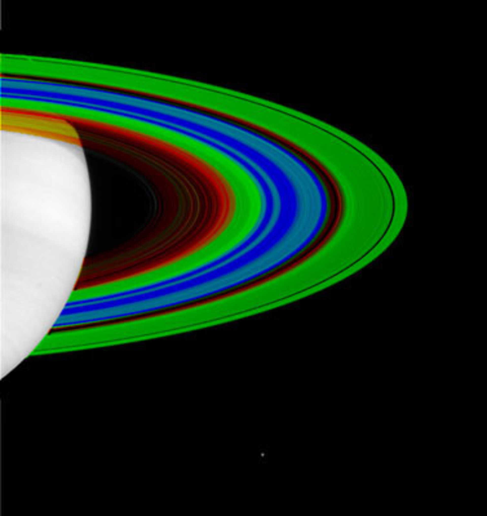 Saturn's rings: cold and colder
