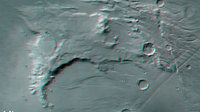 Solis Planum red-cyan anaglyph image
