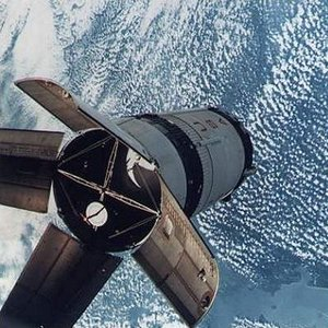 Apollo 7 in orbit