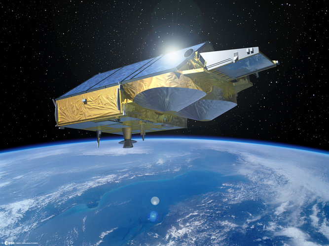 Artist's impression of CryoSat