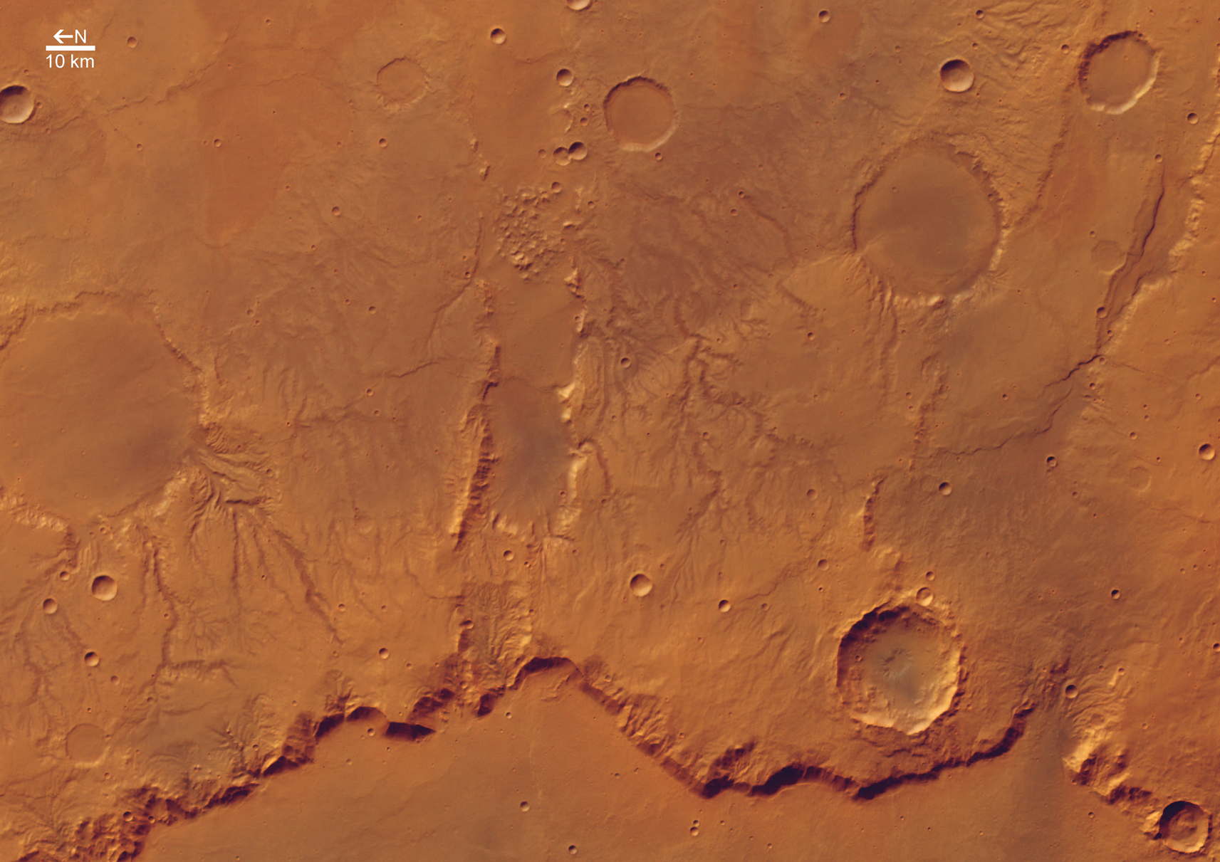 mars surface features - HD1280×982