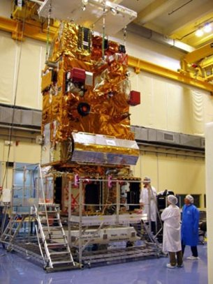 Coupling of the MetOp-FM2 satellite modules