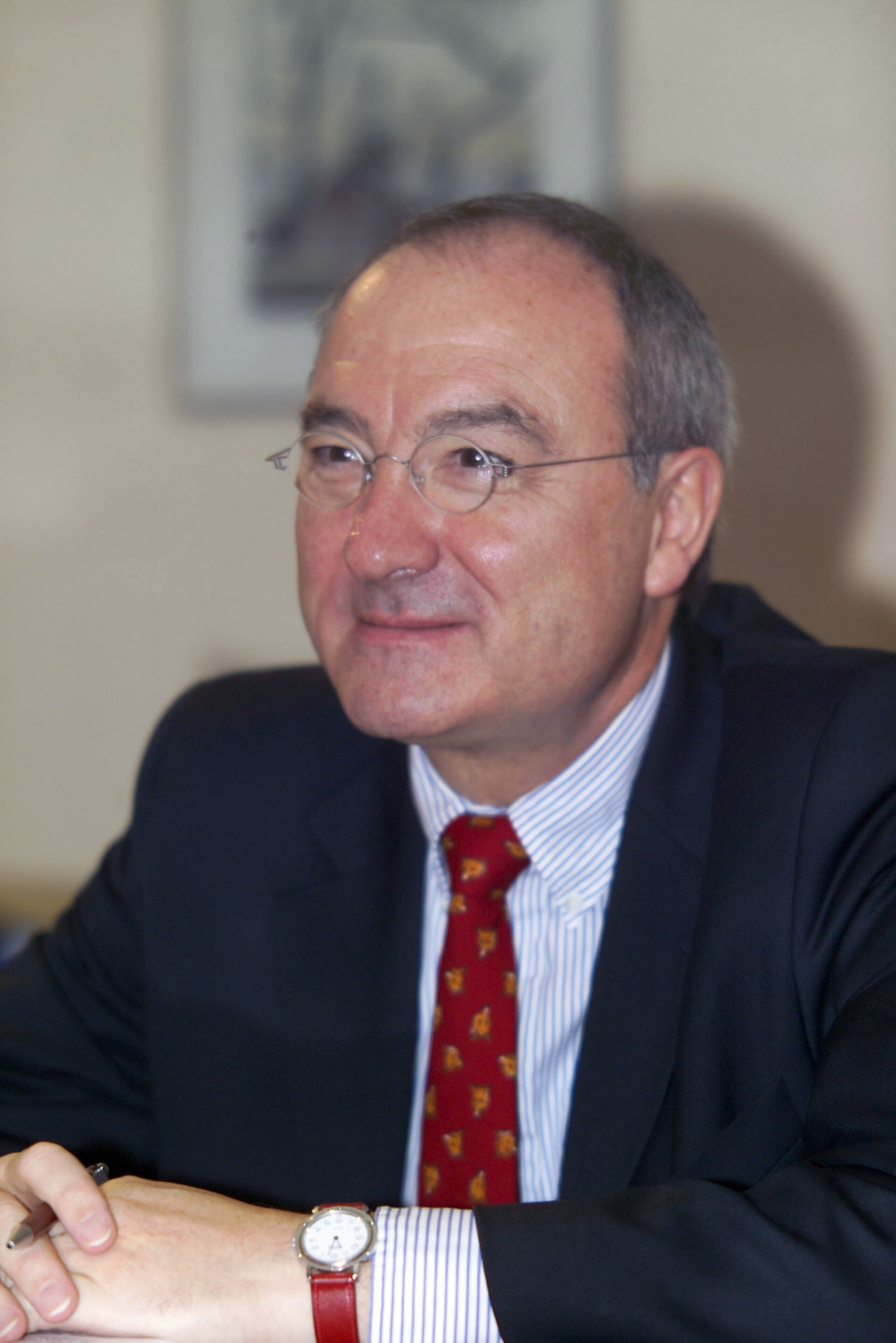ESA's DG, Mr. Jean-Jacques Dordain
