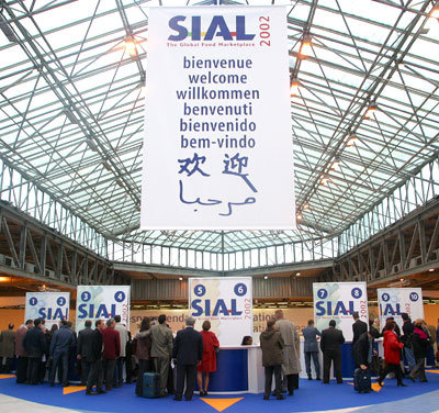 International food fair SIAL in Paris 2002