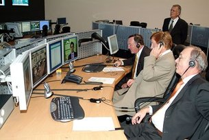 Inauguration Columbus Control Centre