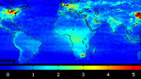 Global pollution map from SCIAMACHY
