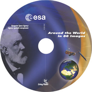 ESA Jules Verne CD-ROM ENVISAT EOGB Earth Observation