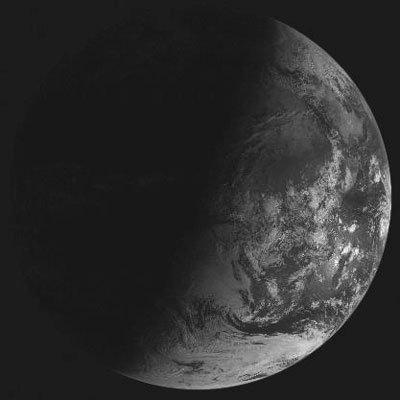 Meteosat picture of Earth