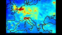 European pollution map from SCIAMACHY