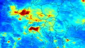 Europe Pollution Map