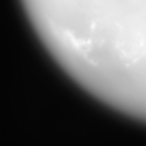Titan's first close-up