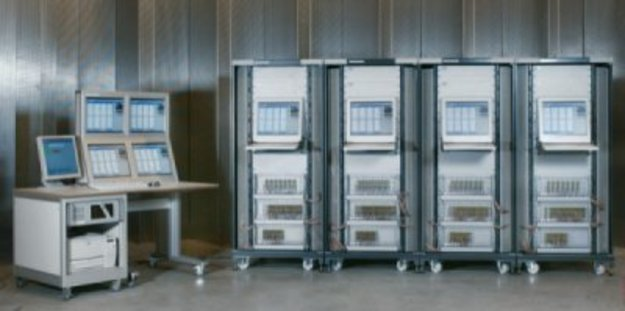 512 channels data handling cabinets