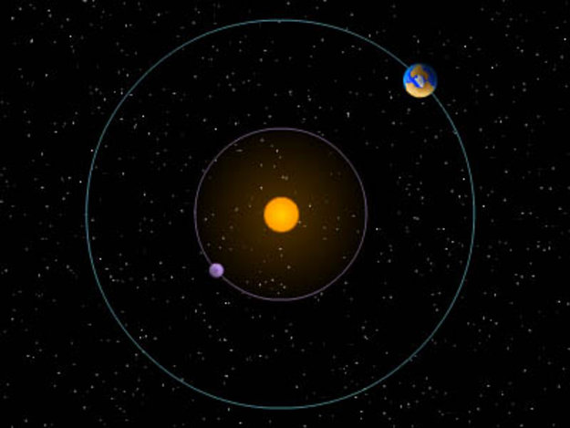 sun earth moon orbit - photo #32