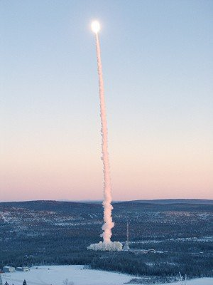 Lift-off for Maxus 6 sounding rocket at 09:35 CET, Monday 22 November 2004