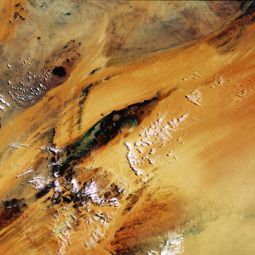 Mauritania - MERIS, 21 June 2003